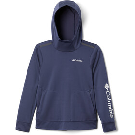 Columbia Tech Trek Sudadera Niños, nocturnal/white grey logo